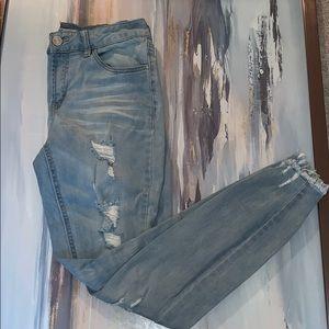 Charlotte Russe boyfriend jeans